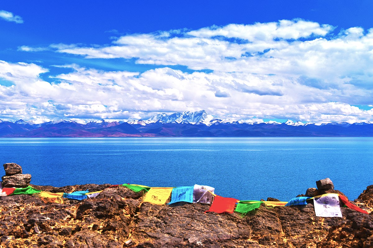 Nam Tso Lake and Nianqingtanggula