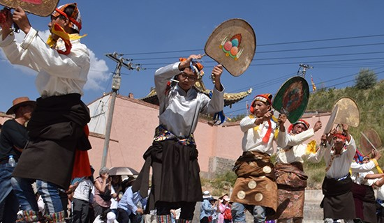 Festa di Shaman in Tongren