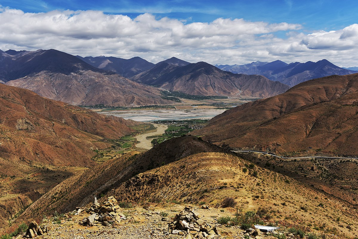 Yarlung Tsangpo and Simila Valley | Foto da Liu Bin